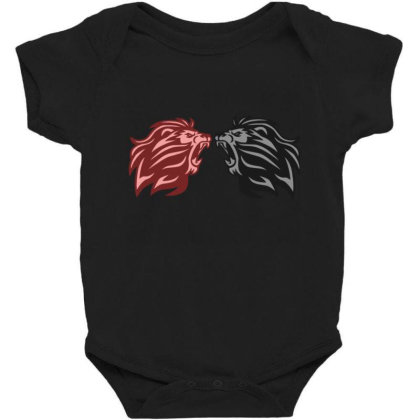 Lion Baby Bodysuit Designed By Babai1