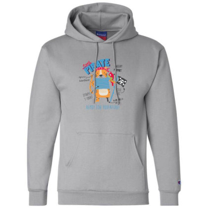 Pirate Champion Hoodie Designed By Disgus_thing