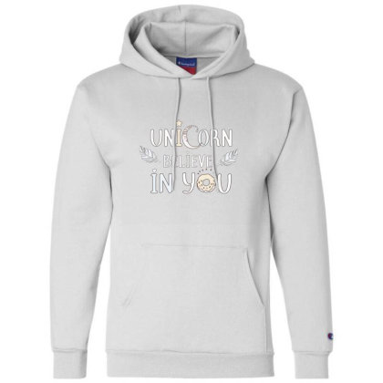 Unicorn Champion Hoodie Designed By Disgus_thing
