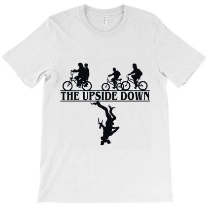 Stranger Things The Upside Down Demogorgon T-shirt Designed By Redline77