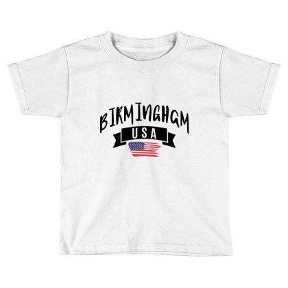 Birmingham Toddler T-shirt Designed By Ale Ceconello