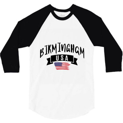 Birmingham 3/4 Sleeve Shirt Designed By Ale Ceconello