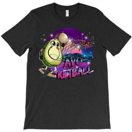 Basketball Avocado Avo-ketball T-shirt Designed By Badaudesign