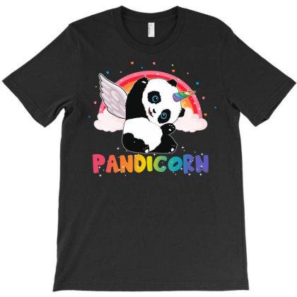 Pandicorn T-shirt Designed By Badaudesign