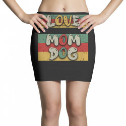 Love Mom Dog Mini Skirts | Artistshot