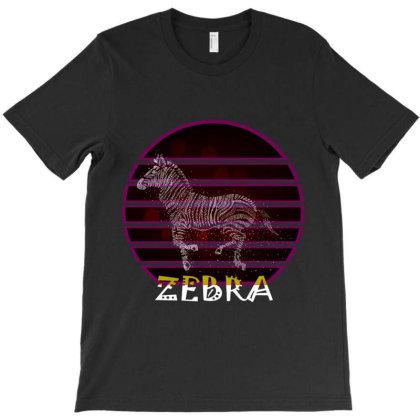 Zebra T-shirt Designed By Redline77