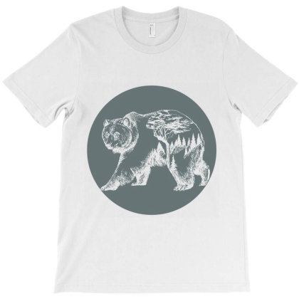 Mountain Bear T-shirt Designed By Redline77