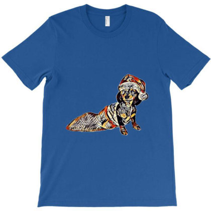 A Puppy Miniature Dachshund P T-shirt Designed By Kemnabi