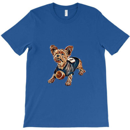 Yorkshire Terrier Dog Isolate T-shirt Designed By Kemnabi