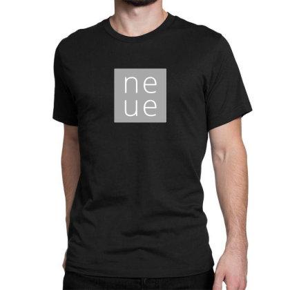 Ne Ue Design Classic T-shirt Designed By The Sleepy Hero