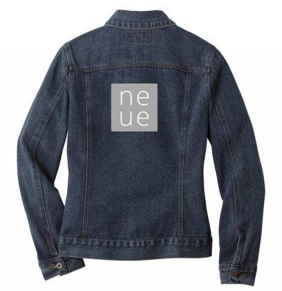 Ne Ue Design Ladies Denim Jacket Designed By The Sleepy Hero
