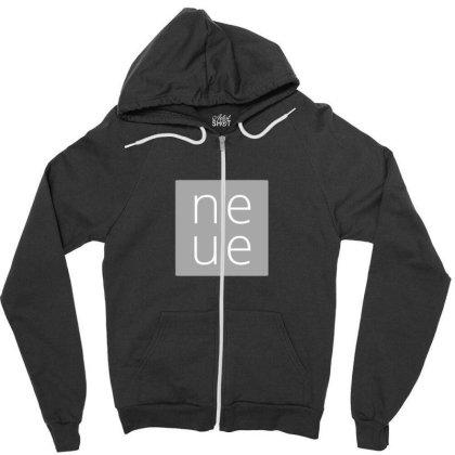 Ne Ue Design Zipper Hoodie Designed By The Sleepy Hero