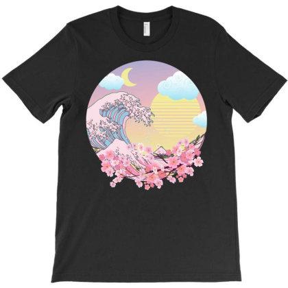 Vaporwave Pastel Goth T-shirt Designed By Badaudesign
