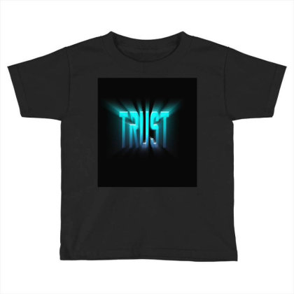 Burst Text Effect Toddler T-shirt Designed By Zahra_grafics