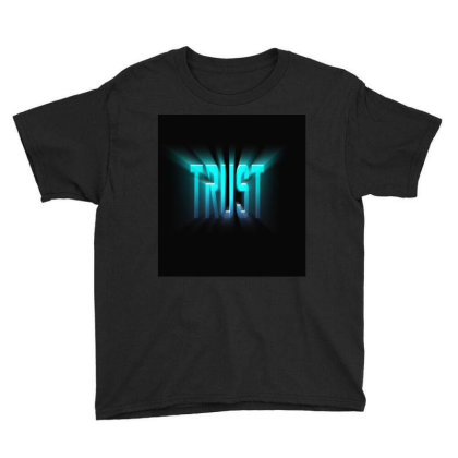 Burst Text Effect Youth Tee Designed By Zahra_grafics