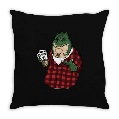 Not The Mama! Throw Pillow Designed By Raffiti
