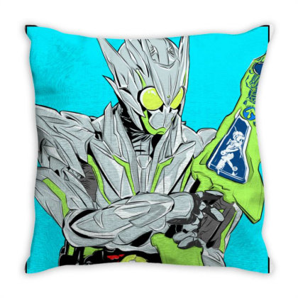 Kamen Rider Zero One Metal Cluster Hopper Throw Pillow Designed By Tokuproject