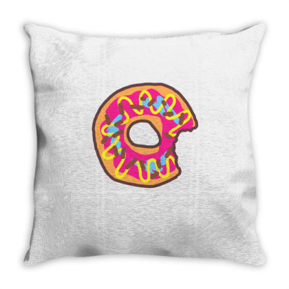 Doughnut Throw Pillow Designed By Regenspply