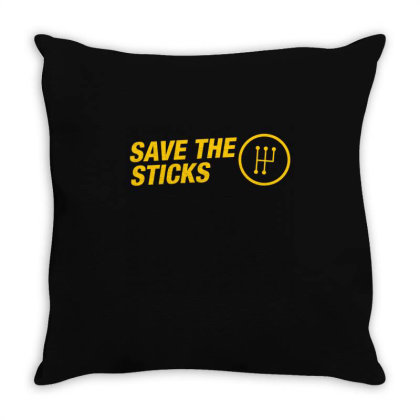 Save The Stick Jdm Throw Pillow Designed By Nextmoon