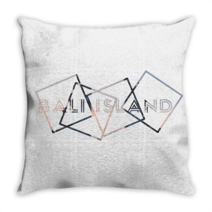 Bali Island Throw Pillow Designed By Abieza