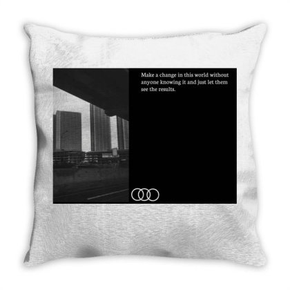 Building Throw Pillow Designed By Abieza