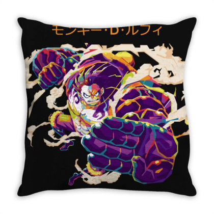 The Bounce Man Throw Pillow Designed By Nyuwunsewu