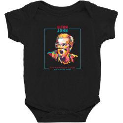 elton john Baby Bodysuit | Artistshot