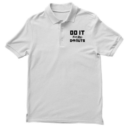 Men Women Kid Do It For The Donuts Cute Donut Lover Gifts Men's Polo Shirt