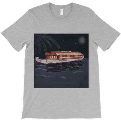 Vacation Night T-shirt Designed By Su_rreal