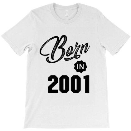 Born In 2001 T-shirt Designed By Chris Ceconello