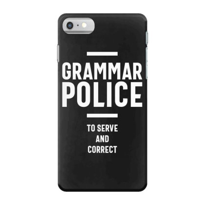 Grammar Police Women And Kids Funny Costume Idea Iphone 7 Case Designed By Cidolopez