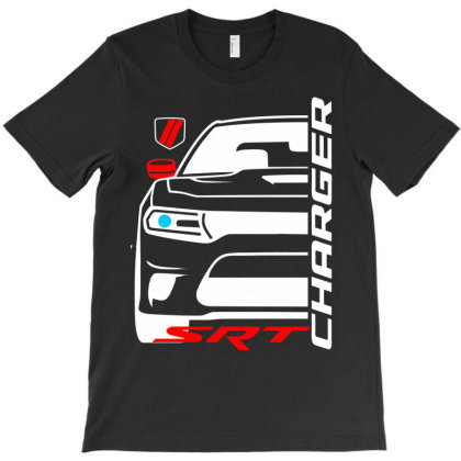 Charger Srt American Muscle Car T-shirt Designed By Nextmoon