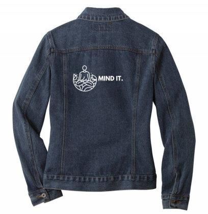 Mind It Design Ladies Denim Jacket Designed By The Sleepy Hero