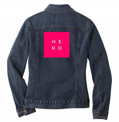 Hero Design Ladies Denim Jacket Designed By The Sleepy Hero