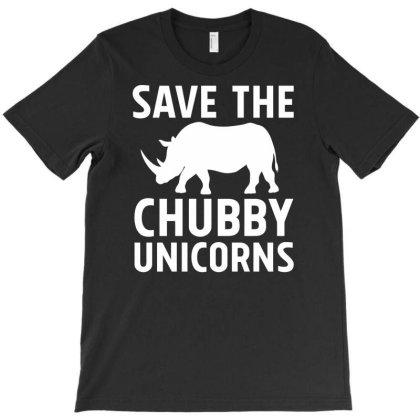 Save The Chubby Unicorns T-shirt Designed By Farh4n