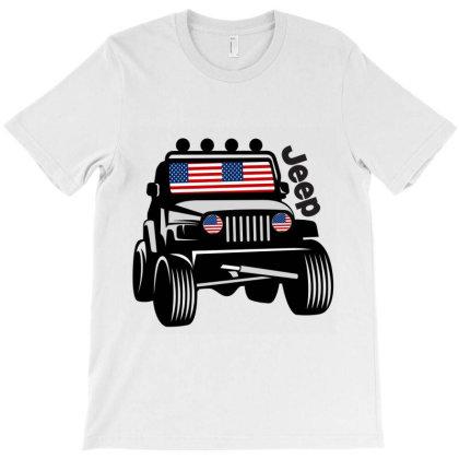 Jeep 4x4.design T-shirt Designed By Redline77