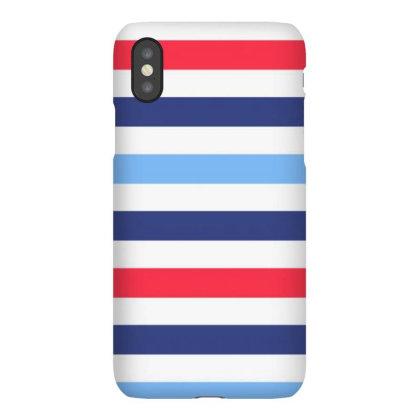 Navy Art Colour Iphonex Case Designed By Kangsaeproject