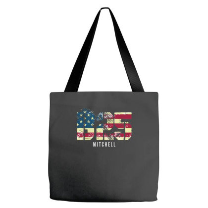 B-25 Mitchell Wwii Bomber Distressed Flag | Aviation Tote Bags Designed By John Phillips