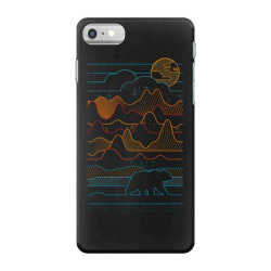 landscape vibe bear iPhone 7 Case | Artistshot