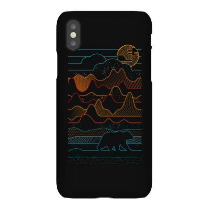 Landscape Vibe Bear Iphonex Case Designed By Mrt90