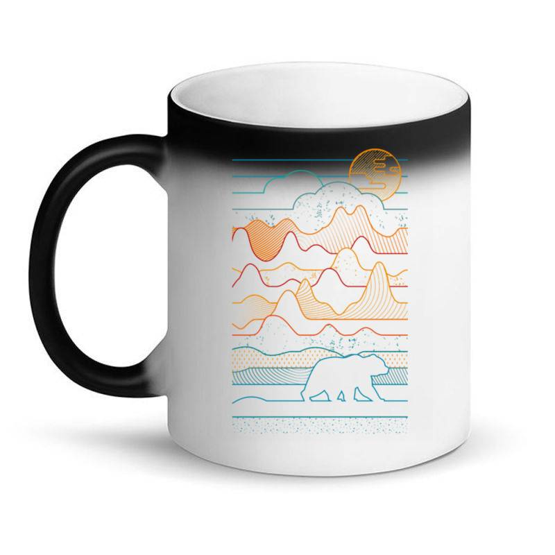 Landscape Vibe Bear Magic Mug | Artistshot