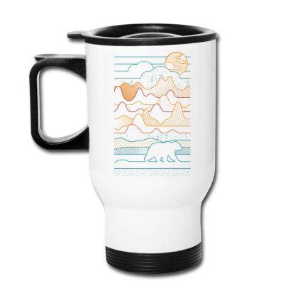 Landscape Vibe Bear Travel Mug Designed By Mrt90