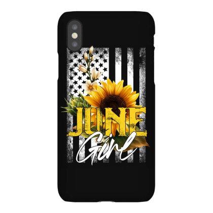 June Girl Iphonex Case Designed By Sengul