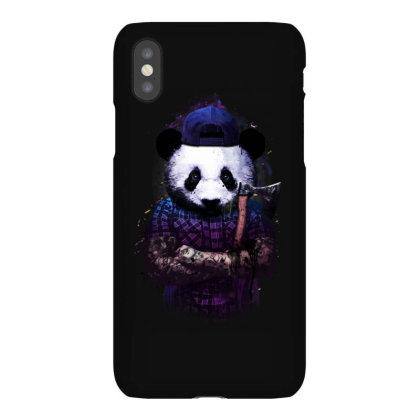 Tattoo Panda Woodcutter Iphonex Case Designed By Mrt90