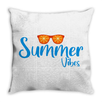 Summer Vibes Throw Pillow Designed By Dfranc