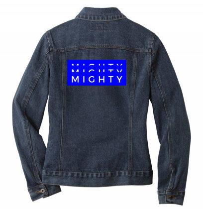 Mighty Design Ladies Denim Jacket Designed By The Sleepy Hero