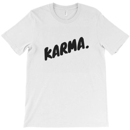Karma Design T-shirt Designed By The Sleepy Hero