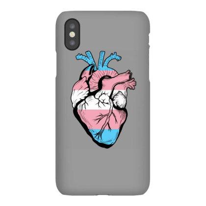 Trans Human Heart Iphonex Case Designed By Sengul