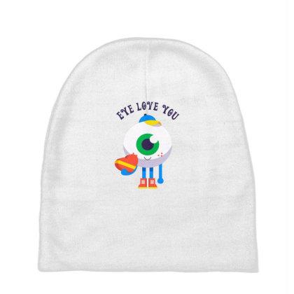 Eye Love You Baby Beanies Designed By Designsbymallika