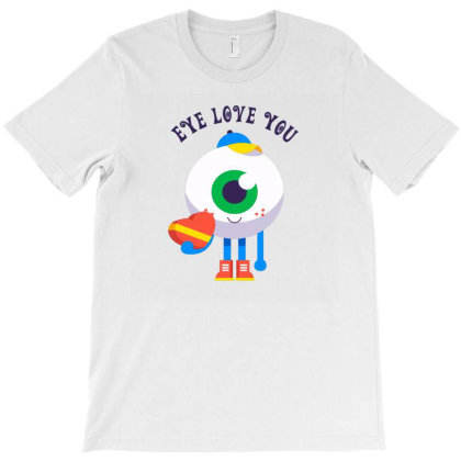 Eye Love You T-shirt Designed By Designsbymallika